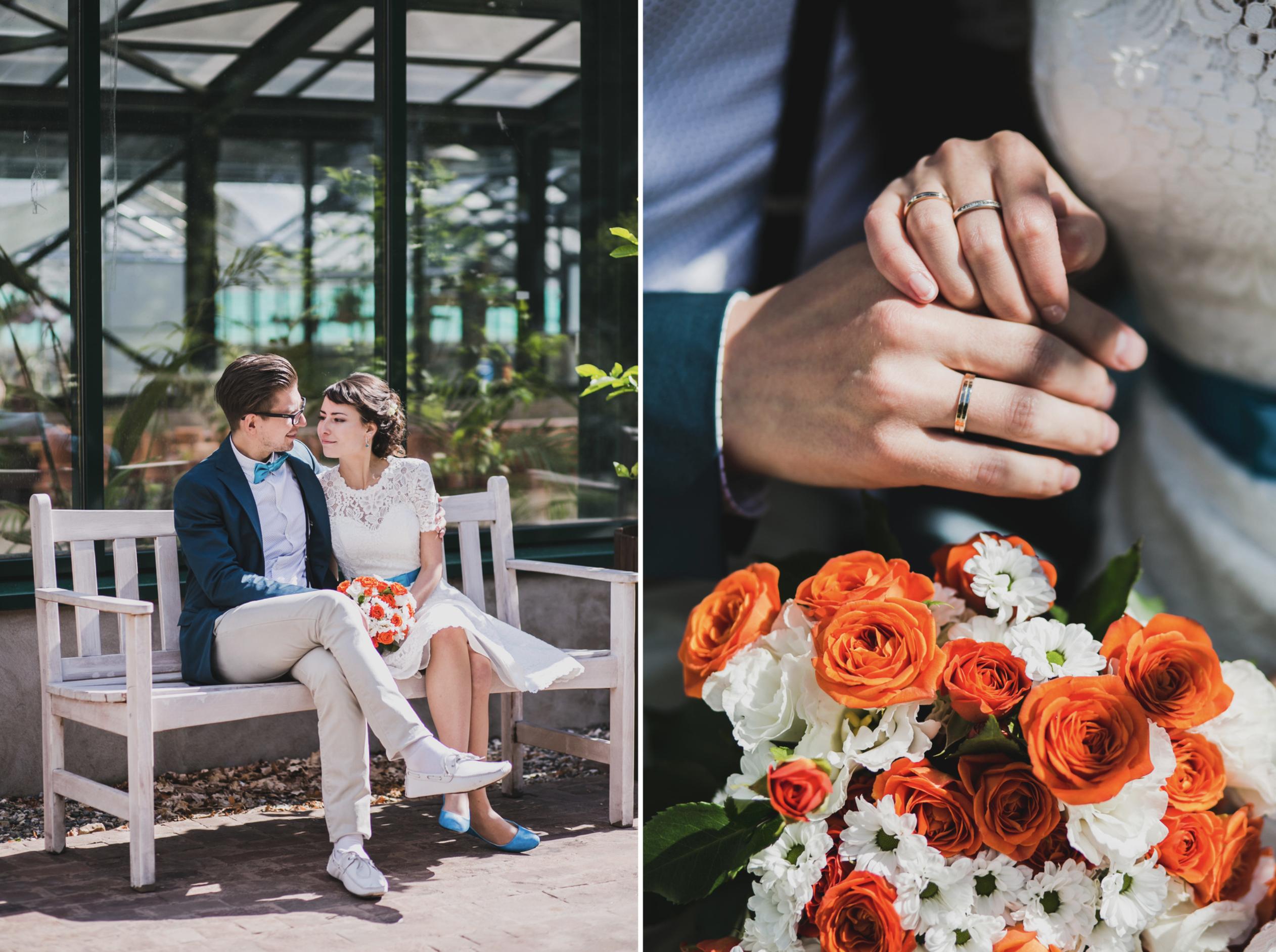 Интересные фотографии со свадьбы